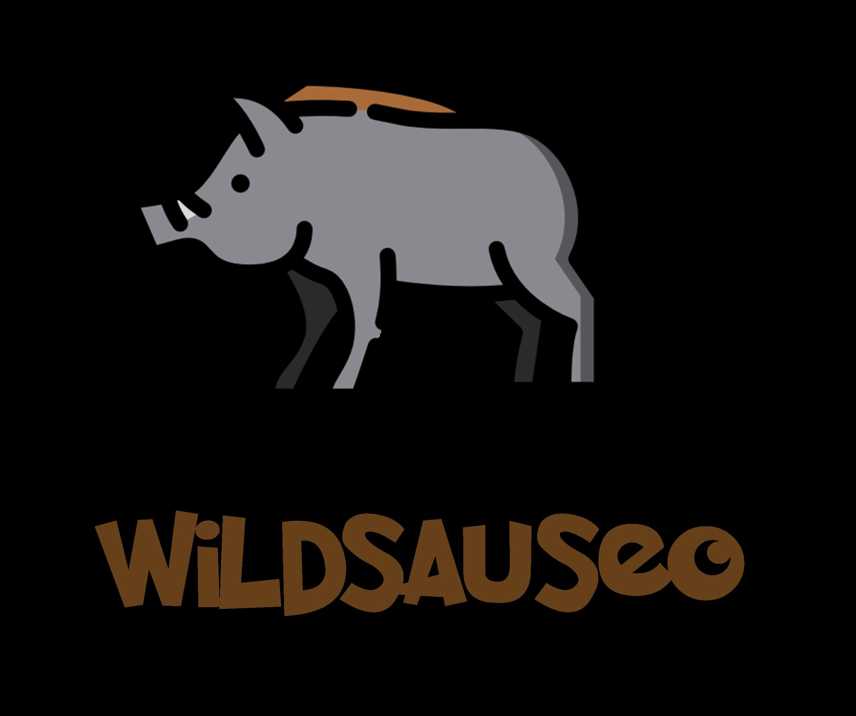 WildsauSEO Schriftzug mit Wildsau